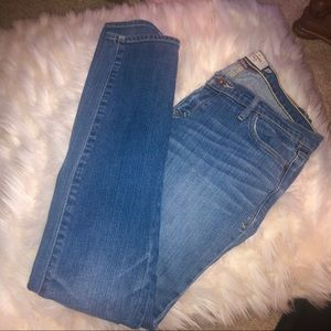 Abercrombie & Fitch Distressed Stretch Skinny Jean